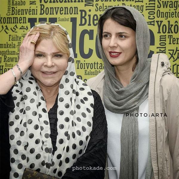 تصویر لیلا حاتمی در کنار مادرش زری خوشکام