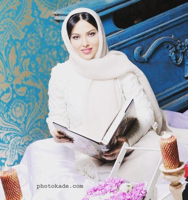 عکس Leila Otadi در لباس عروسی