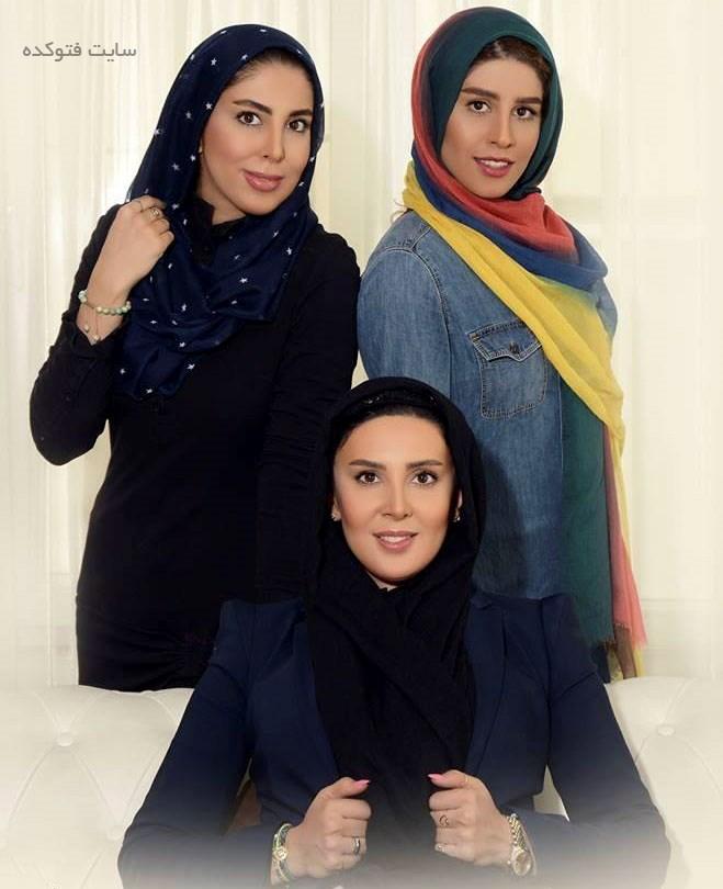 عکس لیلا بلوکات و خواهرانش + بیوگرافی کامل