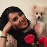 لیلا بلوکات و حیوان خانگی اش