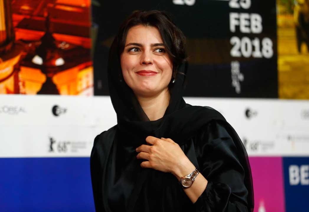 عکس لیلا حاتمی در جشنواره برلین 2018 برای فیلم خوک
