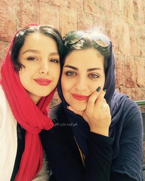 عکس لیلا ایرانی و جوانه دلشاد