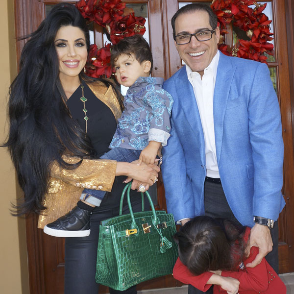 عکس همسر لیلا میلانی + فرزندان
