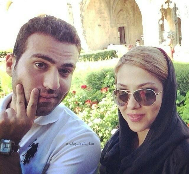 عکس لیلا اوتادی و همسرش + ماجرای ازدواج