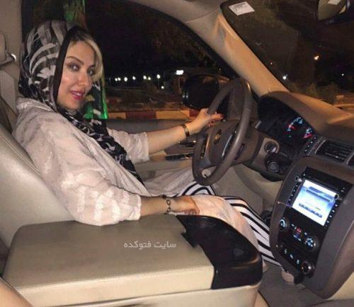 عکس ماشین لیلا اوتادی