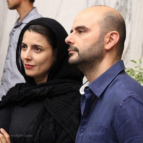 عکس لیلا حاتمی و همسرش علی مصفا