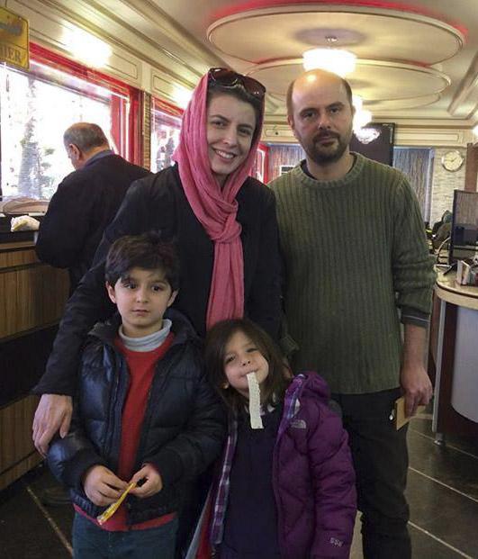 عکس فرزندان لیلا حاتمی و همسرش علی مصفا