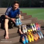 عکس های جدید و متفاوت لیونل مسی