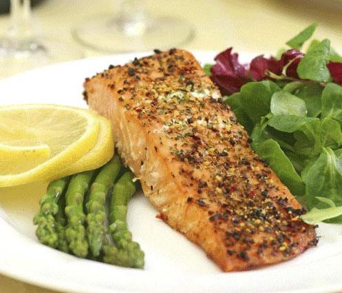 رژیم لاغری با ماهی
