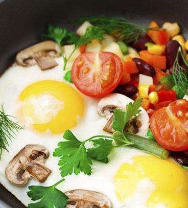 صبحانه پروتئین دار برای لاغری شکم و پهلو