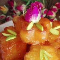 طرز تهیه لیگمات شیرینی سنتی بوشهری