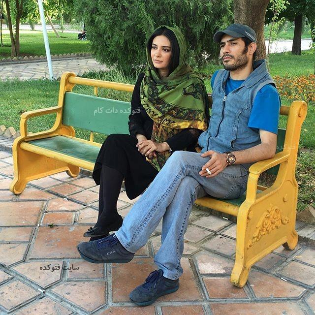 عکس لیندا کیانی و همسرش