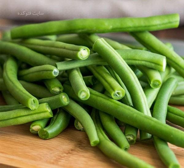 خاصیت لوبیا سبز