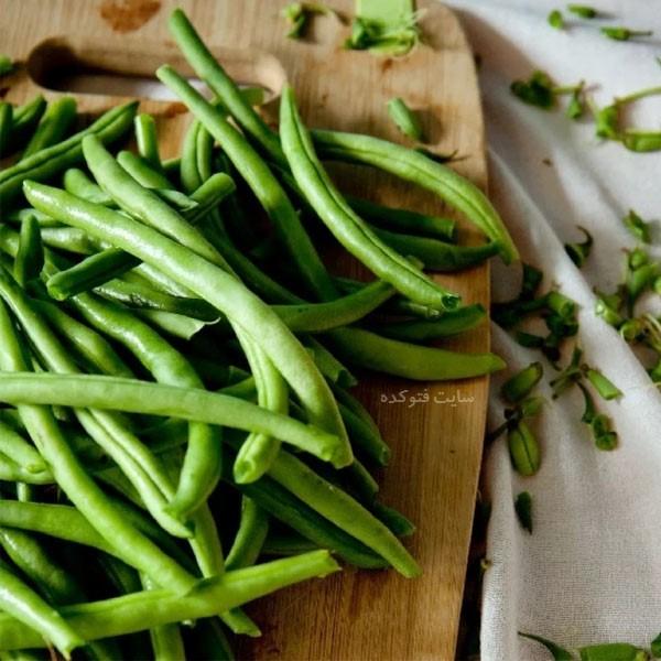 خواص لوبیا سبز برای لاغری