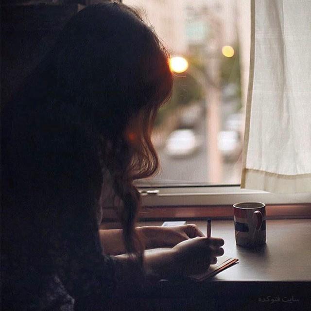 عکس غمگین تنهایی