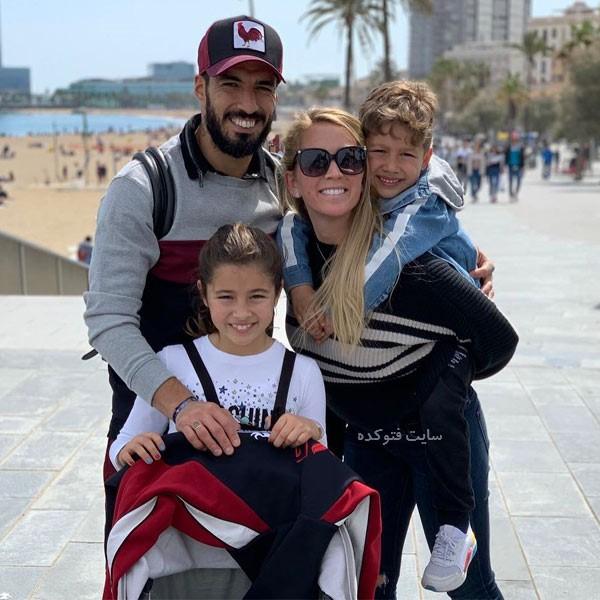 بیوگرافی لوئیس سوارز با عکس های خانوادگی جدید