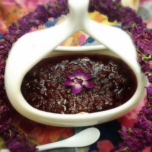طرز تهیه مربای گل محمدی خشک
