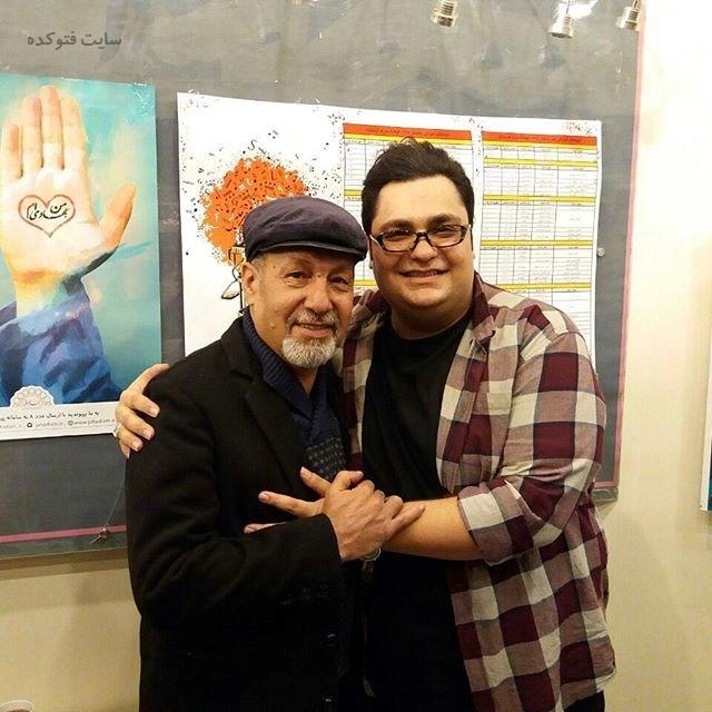 عکس محمدرضا مقدم و پدرش + بیوگرافی