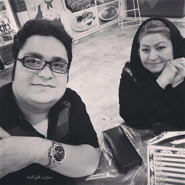 عکس محمدرضا مقدم و مادرش + بیوگرافی