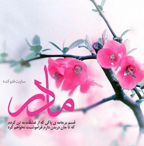 عکس نوشته تبریک روز مادر + اس ام اس