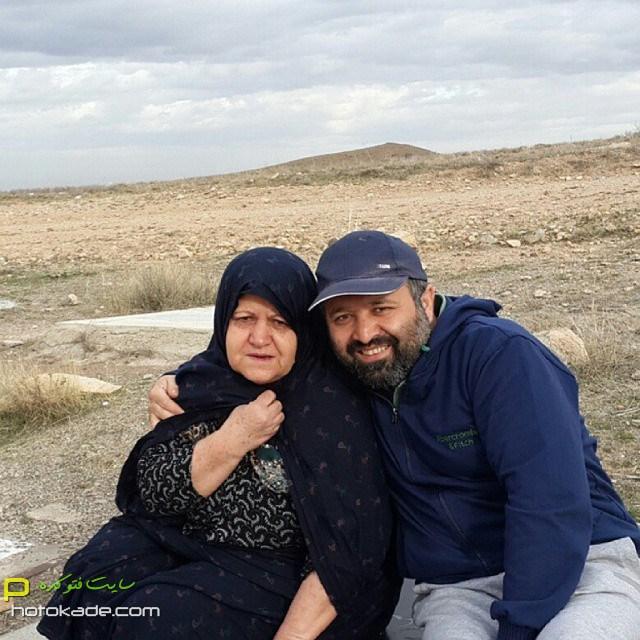چالش عکس با مادر علی صالحی,عکس سلفی علی صالحی و مادر,عکس علی صالحی و مادرش,عکسهای جنیش احترام مادران سرزمینم,عکس احترام مادران سرزمینم