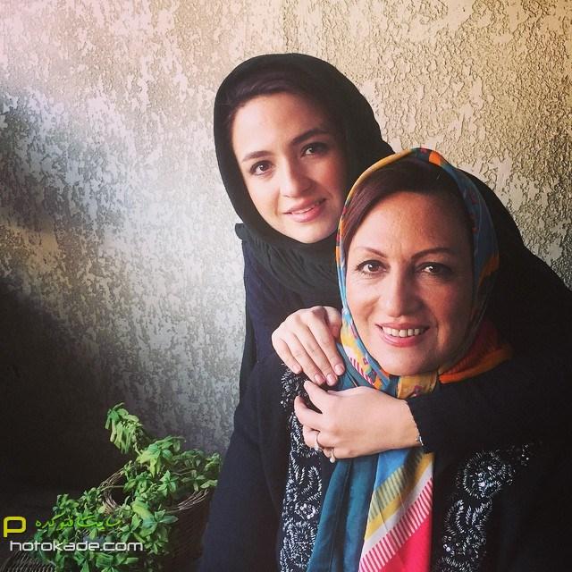 چالش عکس با مادرگلاره عباسی,عکس گلاره عباسی و مادر,گلاره عباسی و مادرش,عکسهای جنیش احترام مادران سرزمینم,عکس احترام مادران سرزمینم