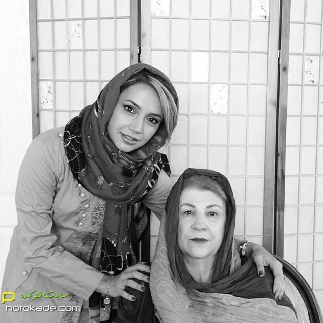 چالش عکس با مادر شبنم قلی خانی,عکس سلفی شبنم قلی خانی و مادر,عکس شبنم قلی خانی و مادرش,عکسهای جنیش احترام مادران سرزمینم,عکس احترام مادران سرزمینم