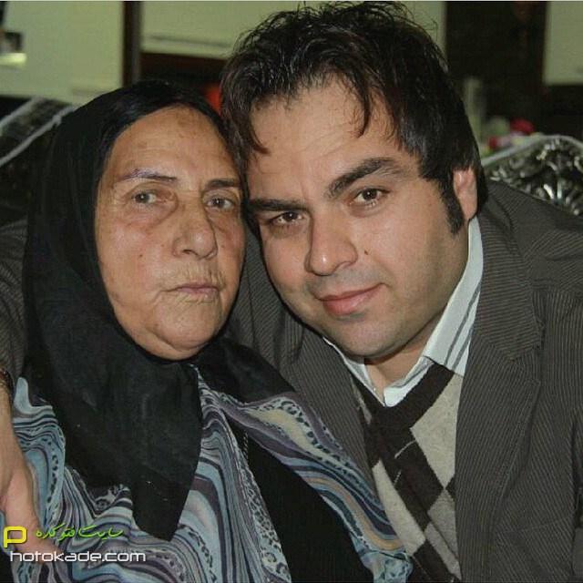 چالش عکس با مادر شهرام قائدی,عکس سلفی شهرام قایدی و مادر,عکس شهرام قائدی و مادرش,عکسهای جنیش احترام مادران سرزمینم,عکس احترام مادران سرزمینم