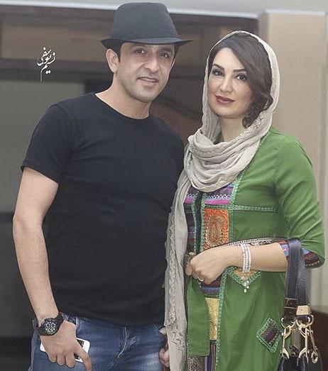 عکس مجید یاسر و همسرش مهشید حبیبی + بیوگرافی کامل