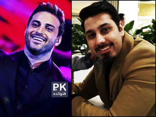 دو خواننده مشهور ماه عسل 94 احسان خواجه امیری و بابک جهانبخش