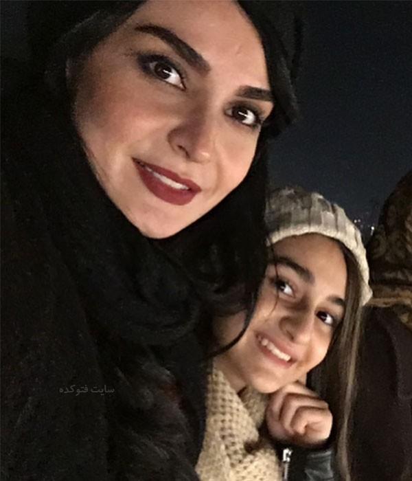 مهدیه نساج و دخترش ملینا + بیوگرافی کامل