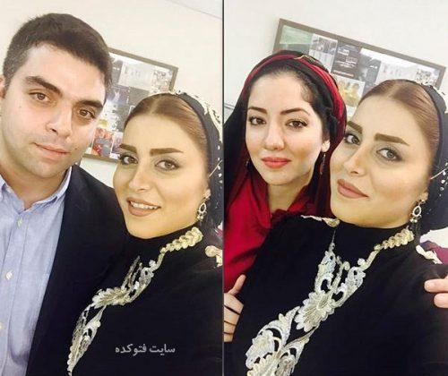عکس مهدیه محمدخانی در کنار خواهر و برادرش + بیوگرافی کامل