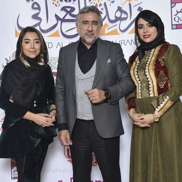 محمود دینی و دخترانش + بیوگرافی کامل زندگی شخصی