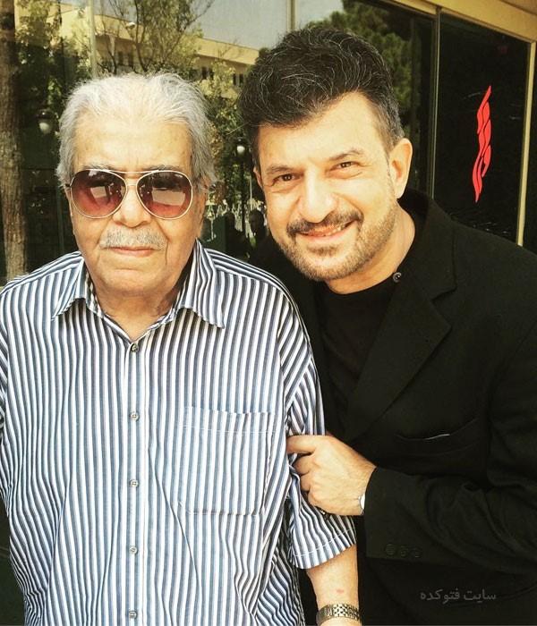 محمود شهریاری و خواننده قدیمی