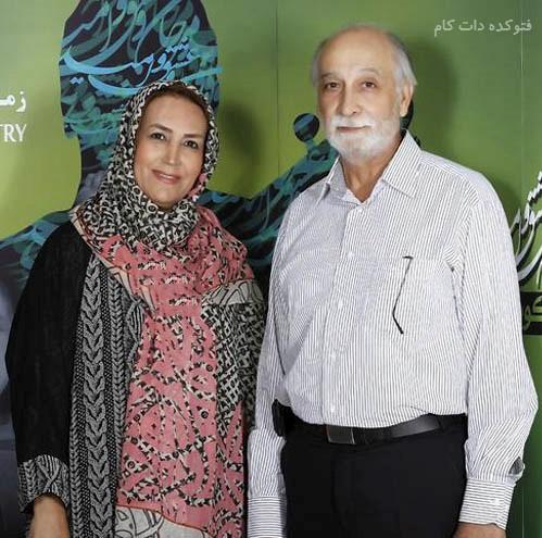 عکس و بیوگرافی محمود پاک نیت و همسرش مهوش صبرکن