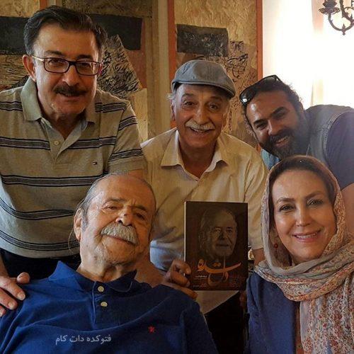 عکس زن محمود پاکنیت