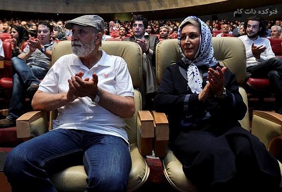 عکس محمود پاک نیت و همسرش مهوش صبرکن