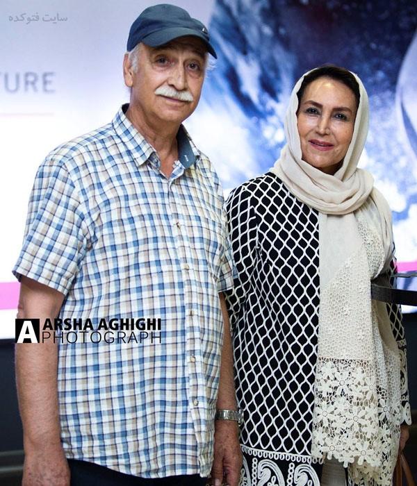 مهوش صبرکن و همسرش محمود پاک نیت + بیوگرافی کامل