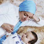 مهناز افشار و دخترش در ویدیو تبلیغ پوشک آمریکایی