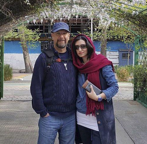 محمد بحرانی و همسرش مهناز خطیبی