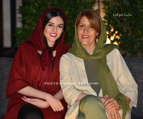عکس ماهور الوند و مادرش زهرا جناب + بیوگرافی