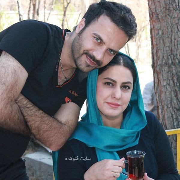 عکس مهسا مهجور و همسرش ایرج با داستان ازدواج