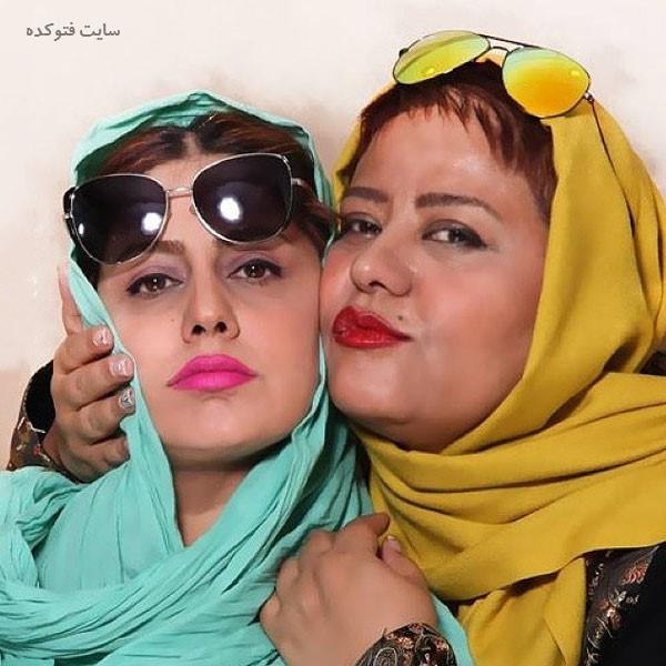 تصویر مهسا مهجور و دوست صمیمی اش رابعه اسکویی