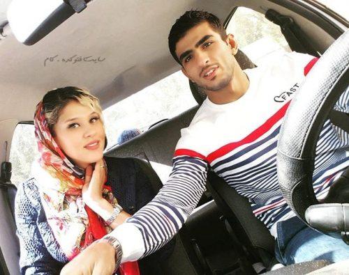 محسن محمدسیفی و همسرش مهسا جاور + بیوگرافی