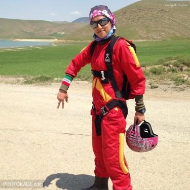 عکس های مهسا احمدی بهترین بدلکار زن جهان