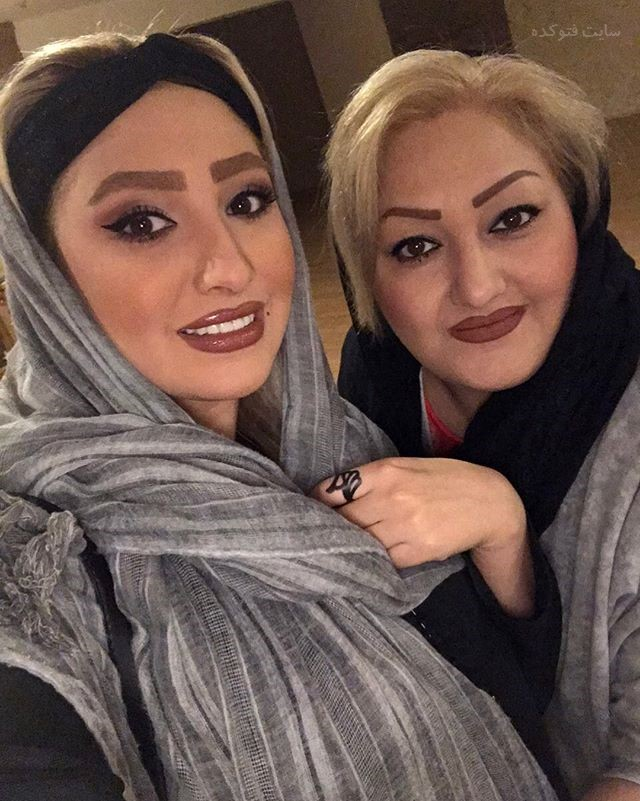 عکس مهسا کاشف و مادرش + بیوگرافی