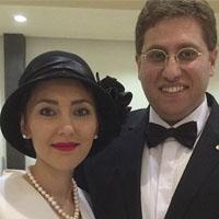 بیوگرافی مهسا کرامتی | مهسا کرامتی و همسرش راما قویدل