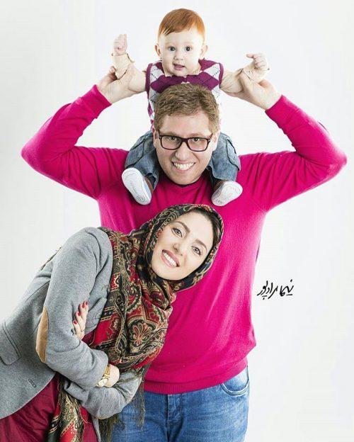 عکس خانوادگی مهسا کرامتی