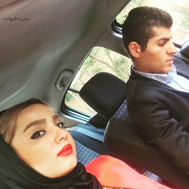 مهسا ملاپور و همسرش