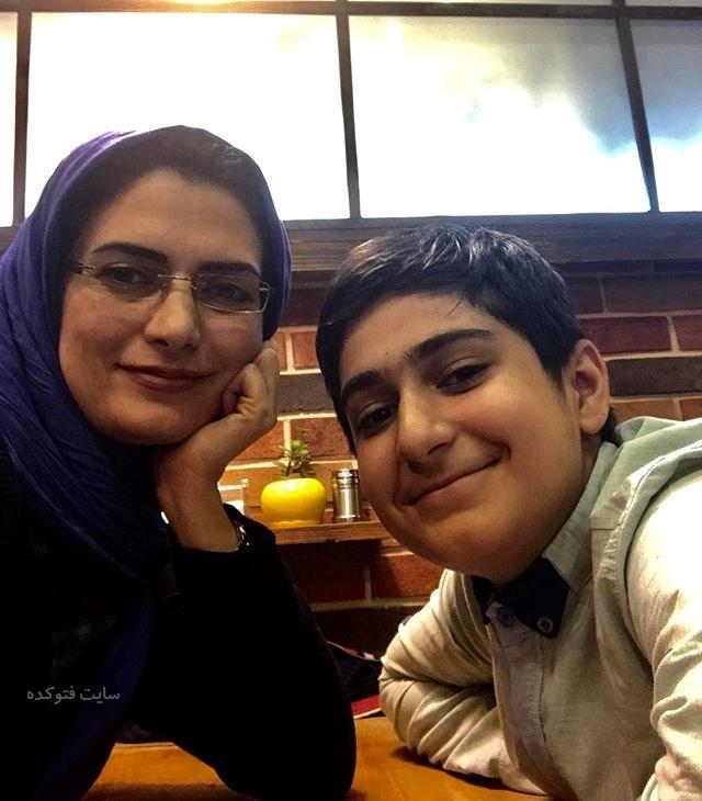 عکس مهسا ملک مرزبان و پسرش علی + بیوگرافی کامل